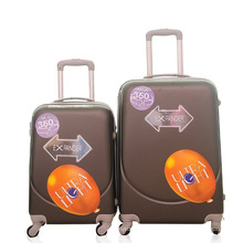Mala a tiracolo barata por atacado dos sacos da bagagem do curso do trole do ABS