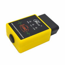 Professionnel Viecar Bluetooth connecteur voiture outil de Diagnostic OBD2 pour Android et Windows Hh avancé Elm327 Interface prend en charge tous les protocoles Obdii