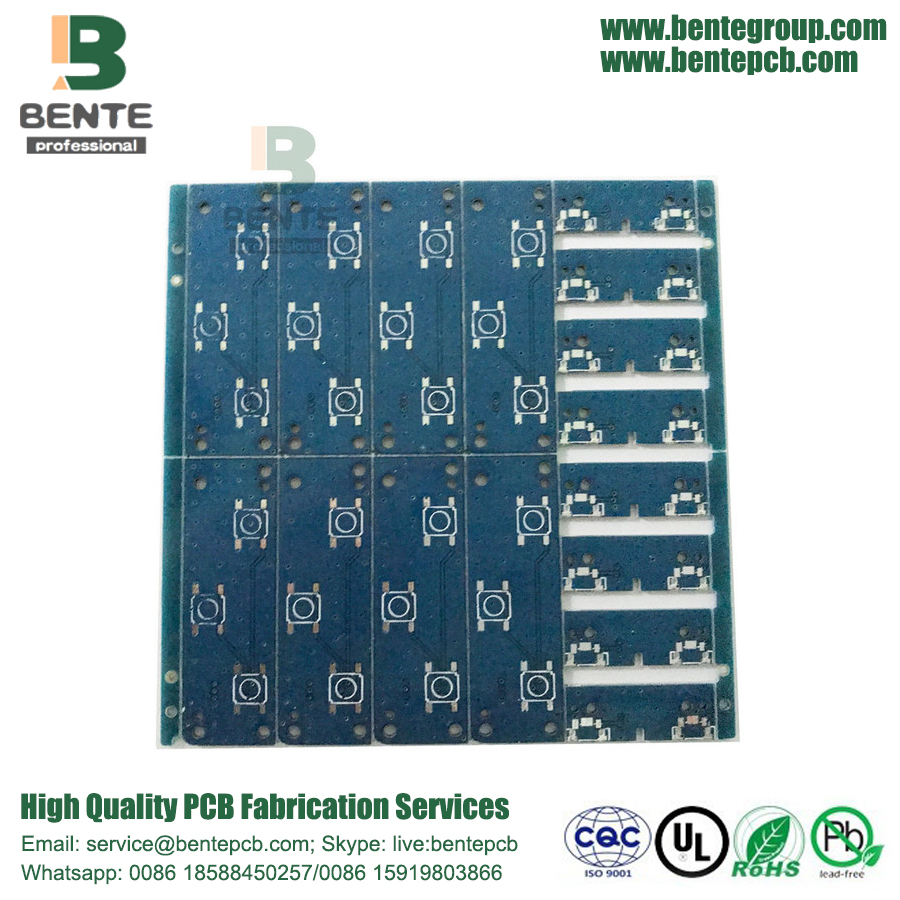 2-Layers PCB Simple Double Panel 1oz BentePCB TIN