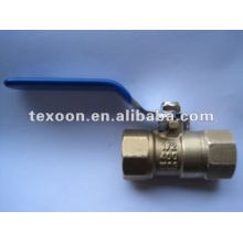 full port brass ball water valves Q235 PTFE,NBR