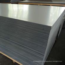 Plateau et plaque en acier inoxydable nécessaires au pont