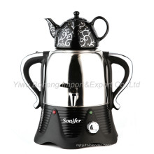 Sf-1901A (black) Turkish Samovar, Electric Kettle, Tea Samovar