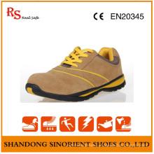Sapatos de trabalho de segurança resistentes ao deslizamento para homens RS67