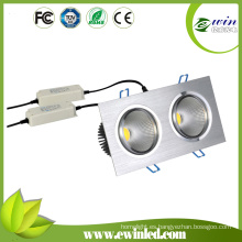 Fabricante proveedor Dimmable 20W COB LED Downlight Globos