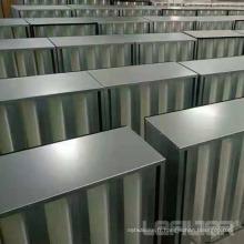 Filtre à air HEPA V-Bank pour système HVAC à boîte rigide