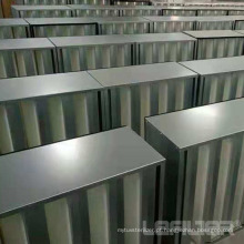 Filtro de ar HEPA do V-Bank para sistema HVAC de caixa rígida