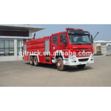 SINOTRUK HOWO 4 * 2 unidad Water Fire truck