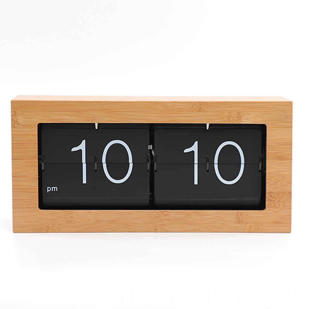 Box Flip Down Clock