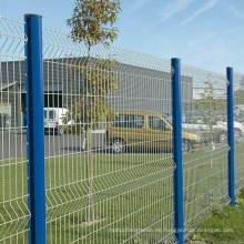 La seguridad de la fábrica soldó los precios de la cerca del acoplamiento de alambre