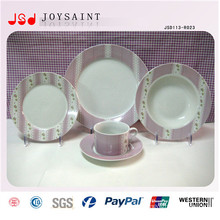 High Quality Porcelain Dinner Sets with Plate Cofffee Cup Saucer for Hotel
