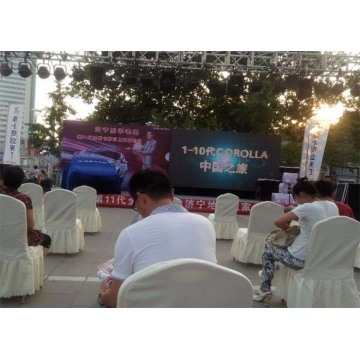 Rental Outdoor Stage LED Display Naadloze splitsen