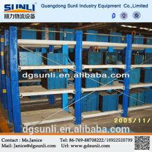 Rack de armazenamento de aço molde de gaveta