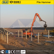 excavator mounted vibro hammer kobelco excavator attachments machinery manufacture ltd