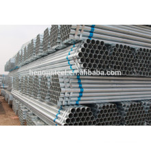 BS1387 ERW Welded steel hot dipped galvanized pipe