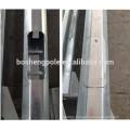 Double Arms Street Light Steel Pole