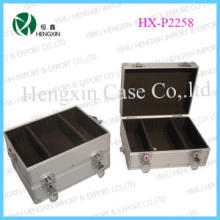 Aluminum hard tool case box 3 in 1 with EVA compartments