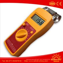 Dm200t Hochfrequenzinduktions-Gewebe-Kleid-Garn-Käse-Textilfeuchtigkeitsmesser