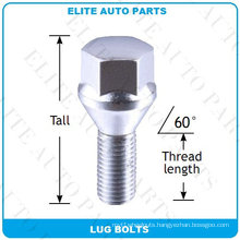 Conical Seat Lug Bolts for Car Wheel
