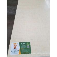 MDF de contraplacado comercial de folheado de madeira