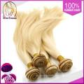 Loira cabelo indiano virgem 20 22 24, cabelo loiro sexy diretamente da Índia