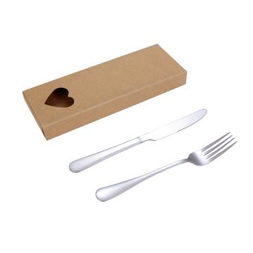 Set Peralatan Makan Antik Stainless Steel Multi-warna Hotel