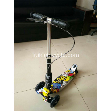 Mini Wheel Music Scooter with Hand Brake