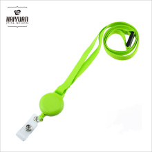 1/2 Inch Light Green Lanyard Without Custom Printing