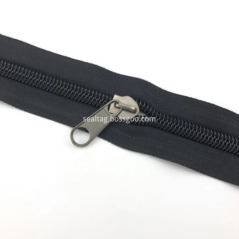 Black Zip Top