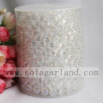 99Feet Clear Bubble Beads Roll Garland Wedding Party Decor