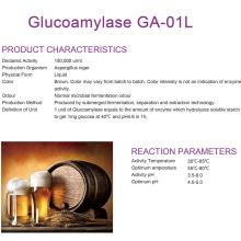 Glucoamylase for brew industry