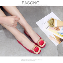 2017 new summer Korean version of the first square fashion casual casual flat shoes wholesale