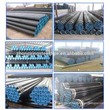 Tubulação sem emenda de aço preto carbono ASTM A53