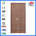 *JHK-013 Wooden Bifold Doors Solid Wood Mahogany Bifold Doors Wooden Bi Folding Doors