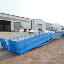 Étagère de produit, chargement de conteneur et rampe mobile / rampes de dock de chargement