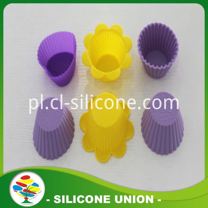 Many Shape silicon cake mold