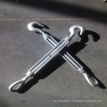 Us Type Carbon Steel Hook and Eye Turnbuckle