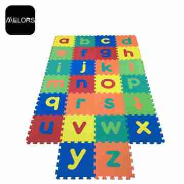 Melors Room Play Kids Gym Letters Puzzle Mat