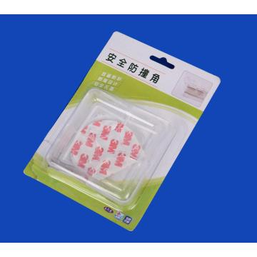 4PCS Baby Clear Soft Plastic Desk Corner Edge Protectors