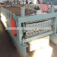 Double Layer Profiles Roofing Roll Forming Machinery