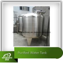 Tanque de aço inoxidável, tanque de água, tanque de armazenamento de produtos químicos