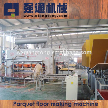 2800T máquina laminadora de prensa de piso / Línea de producción de parquet