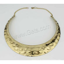 Gets.com gargantilha de colar de ouro napier de aço inoxidável