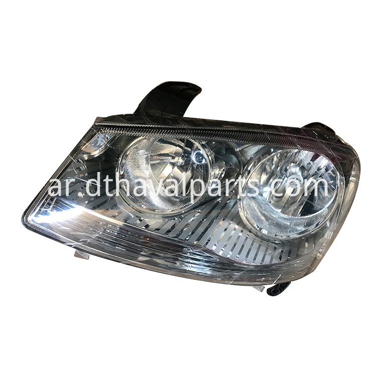 Left Combined Headlight