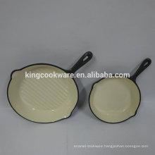Modern kitchen designs cast iron frying pan/cooking pan set
