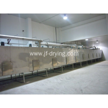 Pigment mesh belt dryer machine