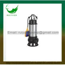 Serie 750 Watt 1HP Günstige Kupferdraht Schwimmer Swicth Abwasser Tauchpumpe für Wasserversorgung (VM750-2F)