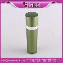 SRS amostra livre cone de luxo acrílico garrafa de plástico para embalagem de cosméticos