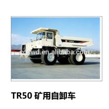 TEREX TR50 45ton et 50ton minig / minero / mineral LNH camion à benne basculante
