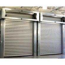 Aluminium Spiral Insulated Roll Up Garage Door