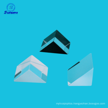 Optical bk7 glass right angle prism coating are on request